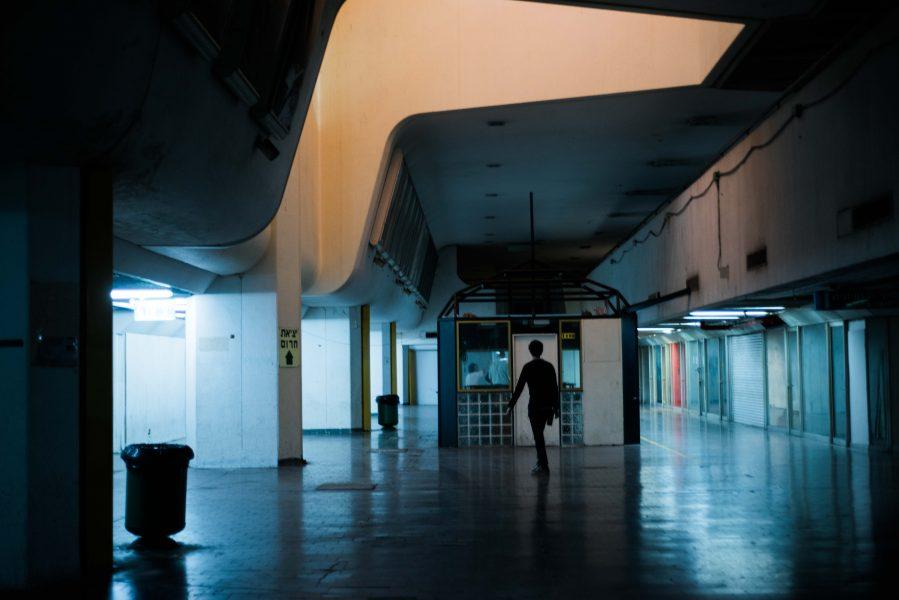 Israel, Israel bus station, Tel Aviv Bus Station, architecture, Israeli architecture, desolate,