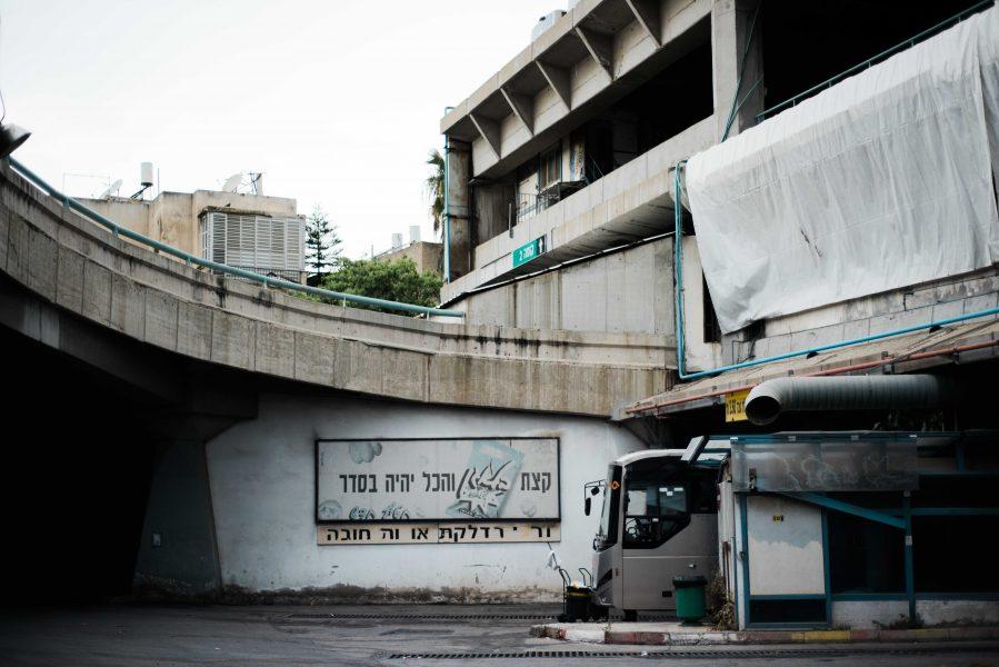Israel, Israel bus station, Tel Aviv Bus Station, architecture, Israeli architecture, desolate