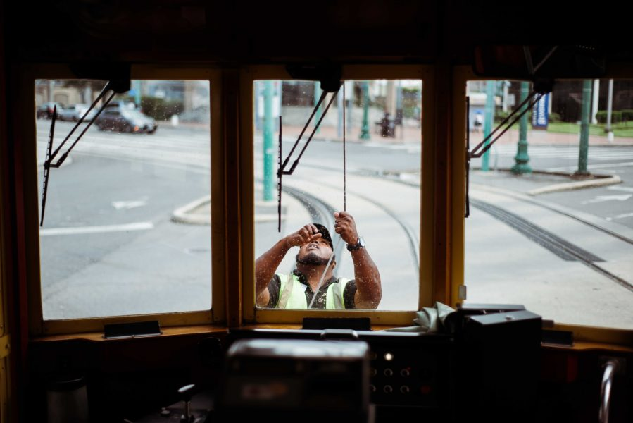 Michelia Kramer Photography, America, USA Photography, Amsterdam Photographer, Netherlands, public transportation, tram, new orleans, window