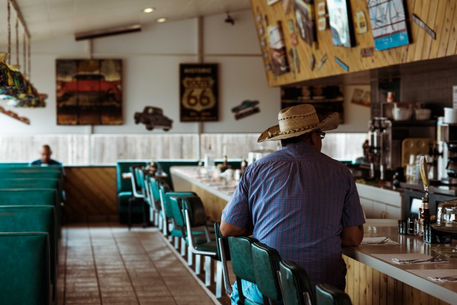 Michelia Kramer Photography, America, USA Photography, Amsterdam Photographer, Netherlands, cowboy, diner, route 66